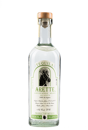 The Bottle of Arette Artesanal Suave Blanco 70 cl