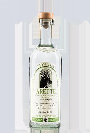 The Bottle of Arette Artesanal Suave Blanco 70 cl