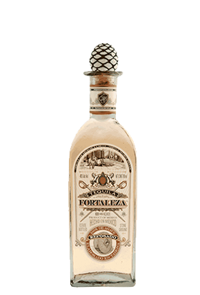 The Tequila Fortaleza Reposado bottle front 70 cl