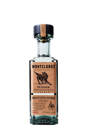 The Montelobos Pechuga black bottle