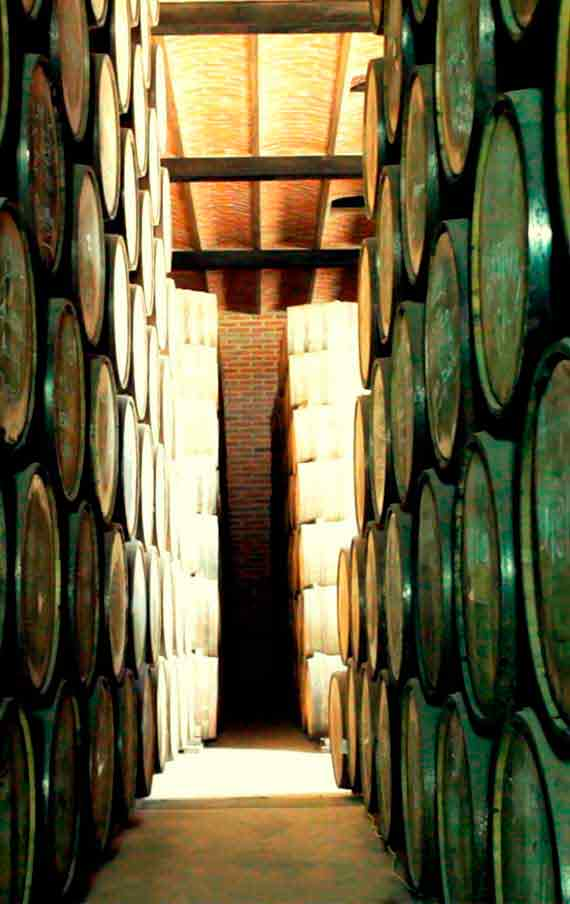 The Aging of Arette Reposado in the Casks