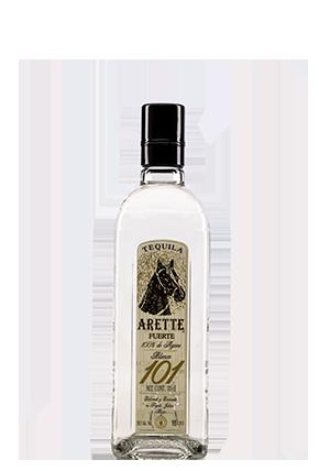 The Arette Fuerte front bottle
