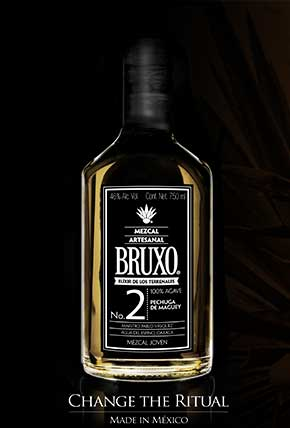 The Bruxo with the black background