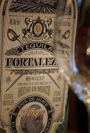 The beautiful label of Fortaleza