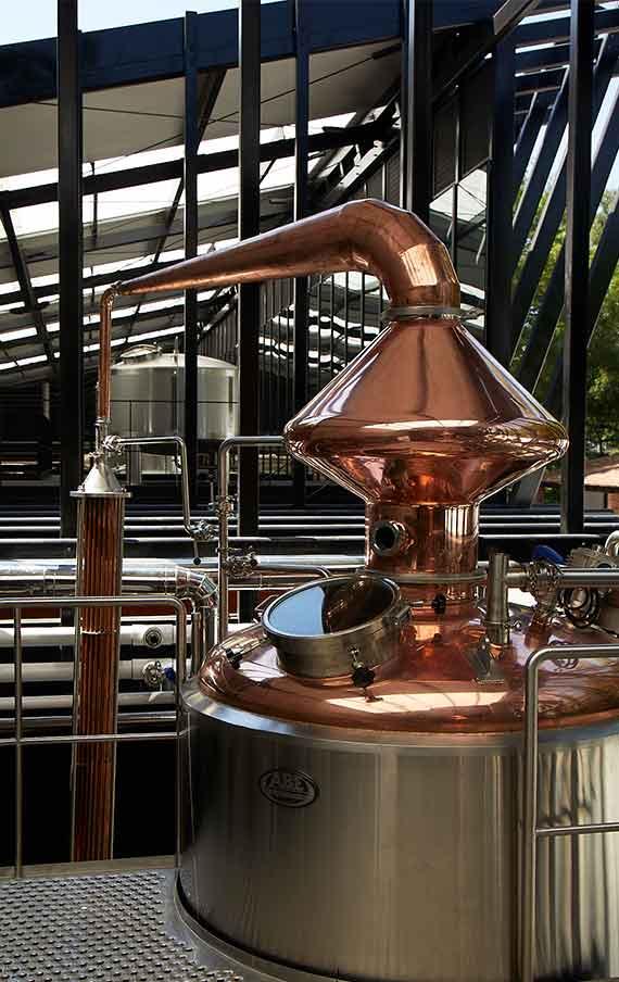 Abasolo distillery