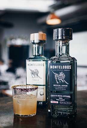 Montelobos Espadin at the bar