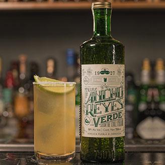 Verde Chelada cocktial