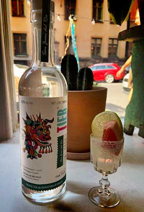 The mezcal to have a good cocktail at home
