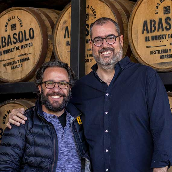 Abasolo creators Danny the designer and Ivan the producer