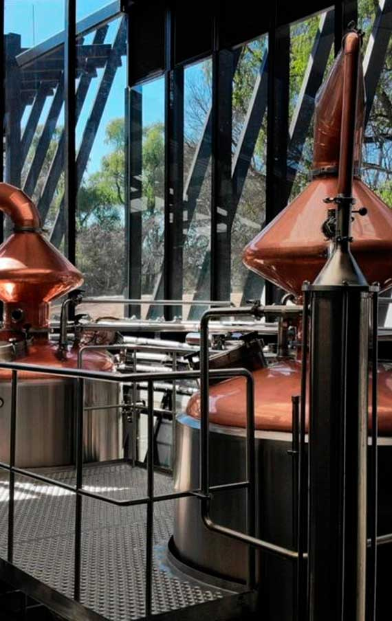 The Distillation, a important part of the process