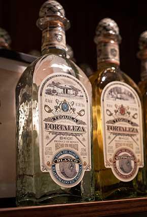 Tequila Fortaleza Blanco at the fair