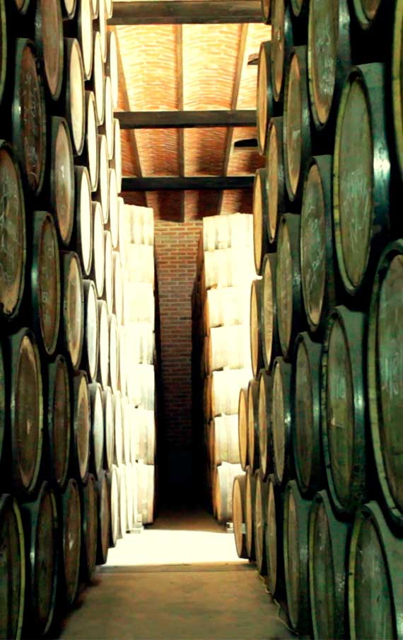 The Aging of Arette Gran Clase in the Casks