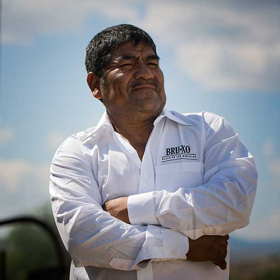 Juan Morales the Maestro Mezcalero