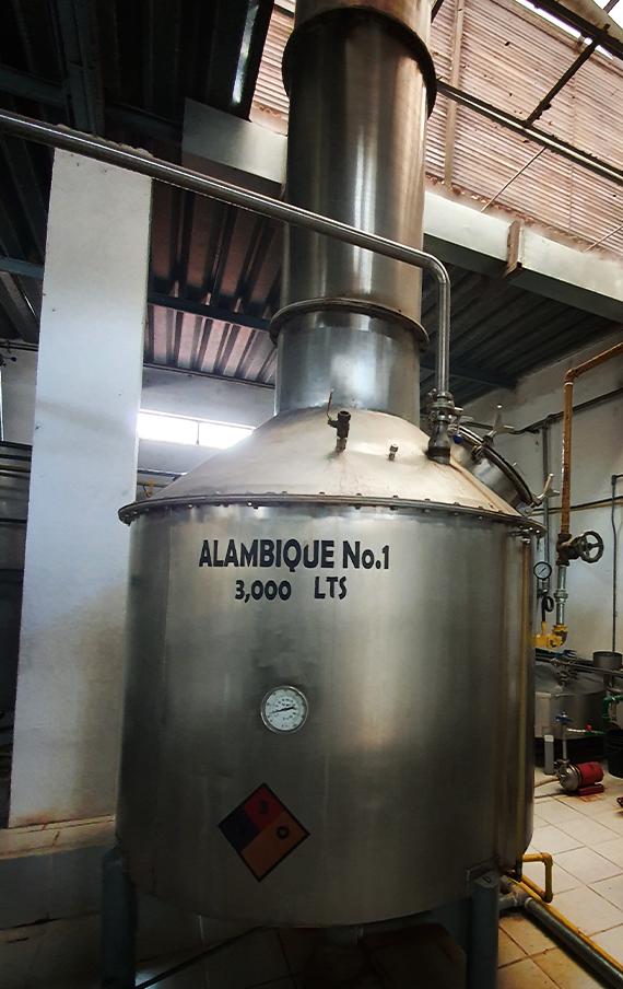 Stainless Steel Pot Stills