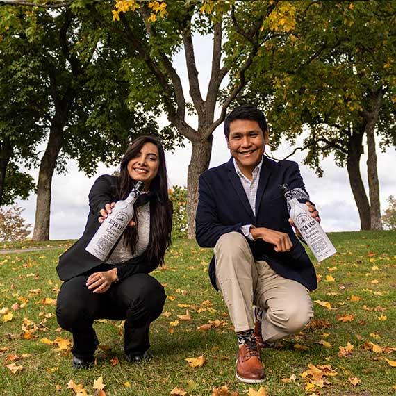 Mayra and Omar, Environmental Engineers