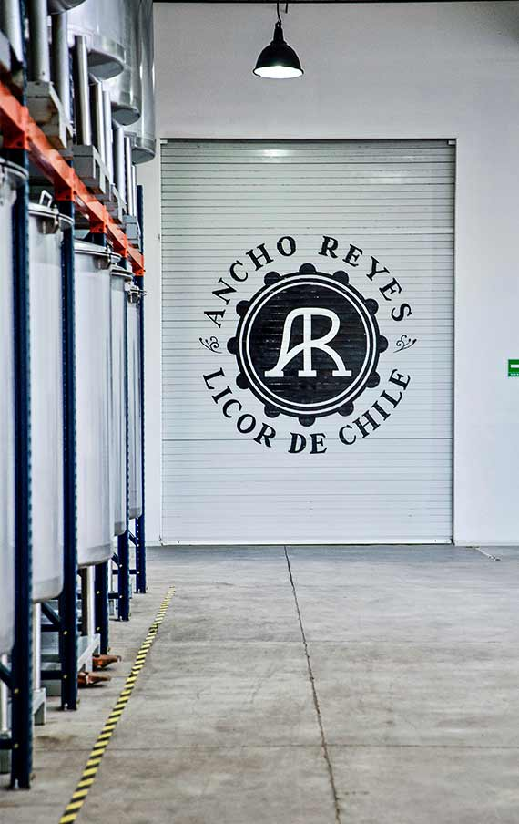 The Ancho Reyes Factory